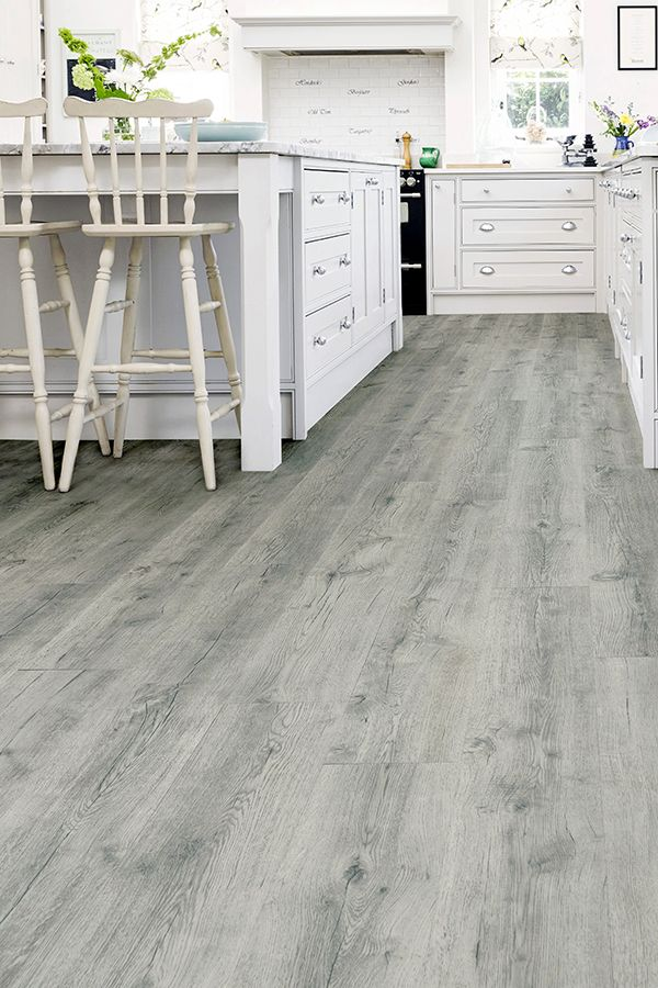 Spectra Rustic Grey Oak Plank Luxury, Rustic Gray Laminate Flooring