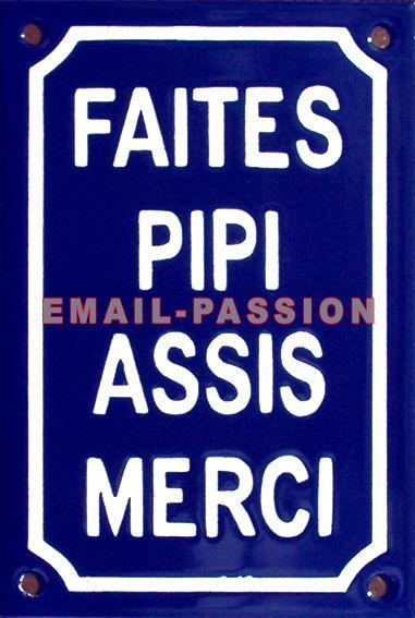 Plaque De Rue émaillée De 10x15cm En Relief, Plate, Fait Au Pochoir. FAITES
