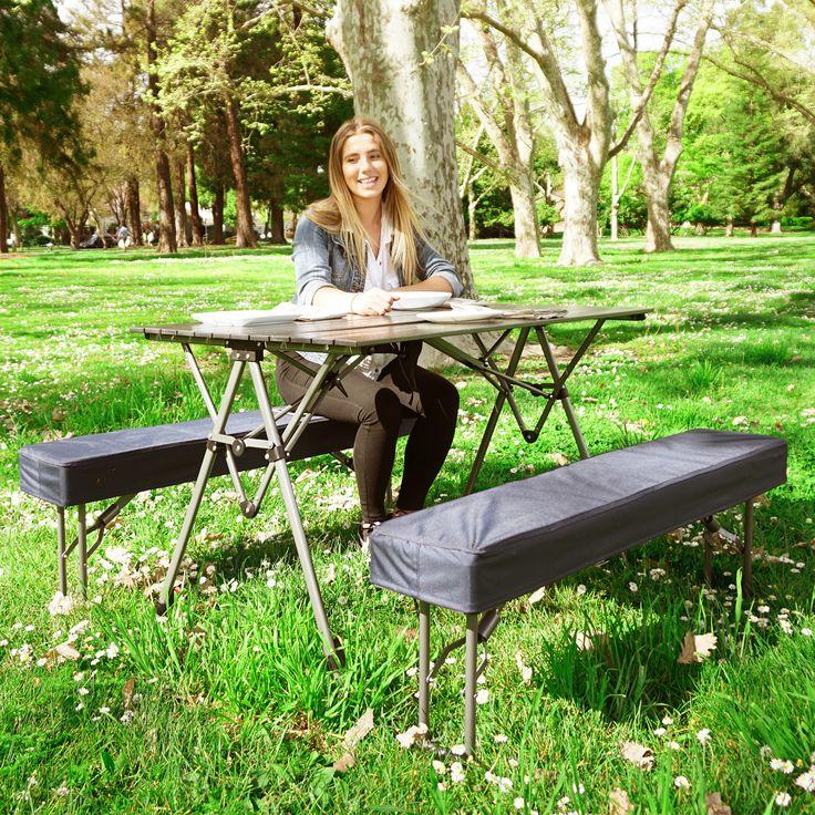 Kamp-Rite Kwik Set Table and Bench Set