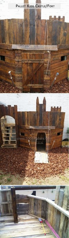 Amazing Uses For Old Pallets – 20 Pics OMG I WANT TO BUILD THIS!