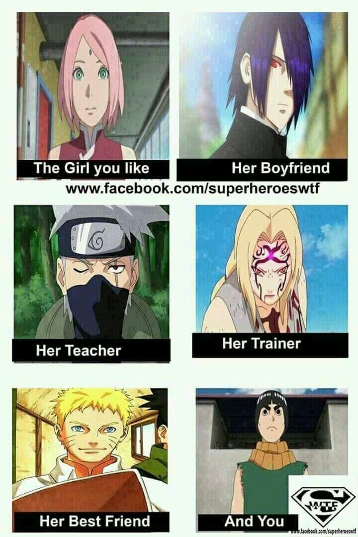Her Husband Naruto Meme