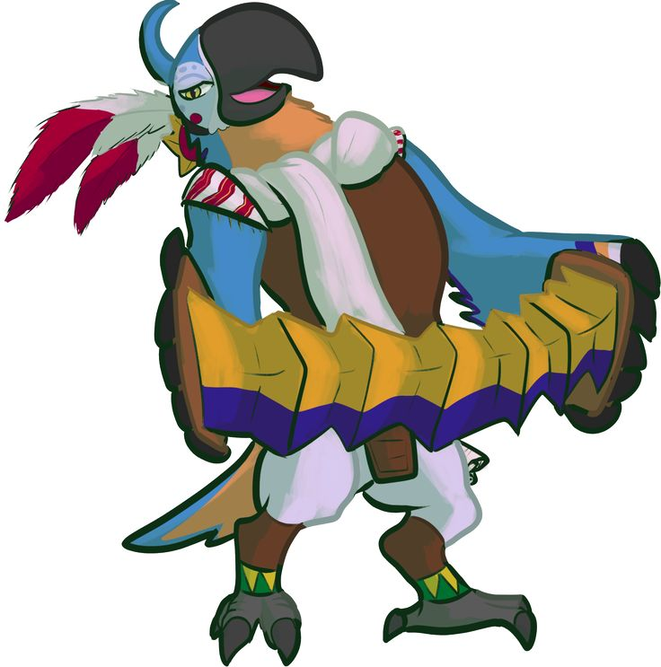 Kass - may I just say, it's awesome to see what is presumably the Rito again! I still think this game is in the Twilight Princess timeline, based on several hints. What do you guys think? Drop a comment.
