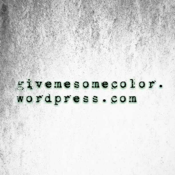 Check out my blog! www.givemesomecolor.wordpress.com  and if you want to fallow me at instagram @givemesomecolor !