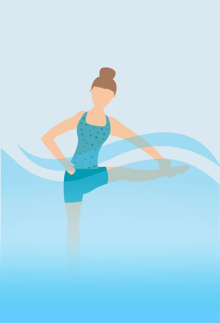 Hot tub Yoga - Grab Pose