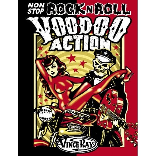 Hard to find, but a classic. Vince Ray is a Legend within Lowbrow art. http://amzn.to/OO3JrL $69.99