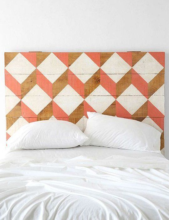 Buy or DIY: 12 Creative Wood Headboards | Apartment Therapy