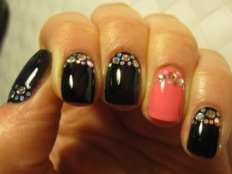 Sylwestrowe paznokcie / Disco Nail / New Years Eve Holographic Nail Art Tutorial
