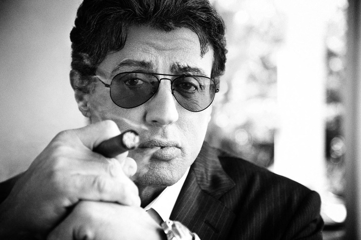 Sylvester Stallone by Jim Wright
