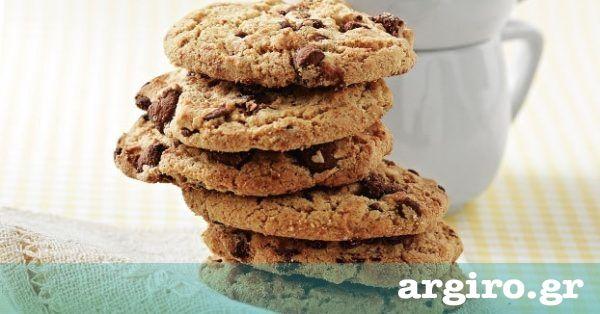 Μπισκότα βρώμης με σταφίδες και σοκολάτα από την Αργυρώ Μπαρμπαρίγου | Φτιάξτε γρήγορα και εύκολα υγιεινά μπισκότα με σοκολάτα!