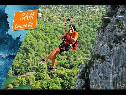 Seyahat Hirvatistan: Dogada adrenalin dolu bir macera, Zipline