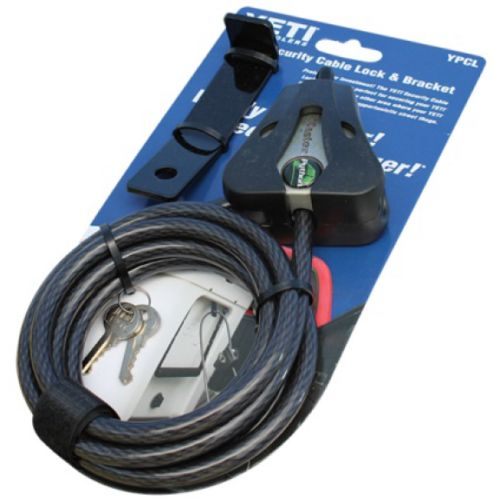 Camping Ice Boxes and Coolers 181382: New! Yeti Cooler Security Cable Lock And Bracket Ypcl Color Black -> BUY IT NOW ONLY: $34.95 on eBay!