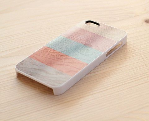 pastel stripes iPhone 5 cover — quirk collective geelong - $25