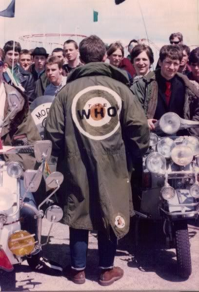 Mod parka. Essential to the rest of the outfit.