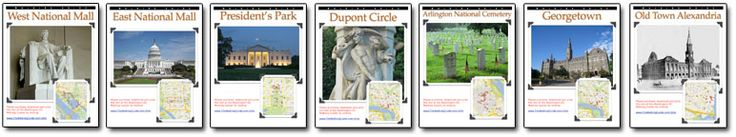 Download, Print & Tour Washington DC Today! Walking Tour Map Facts Picture