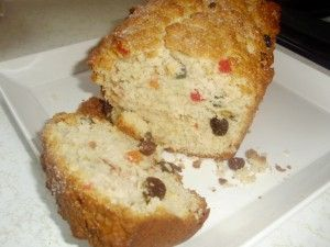 This is a fool-proof recipe for sweetbread, serious Caribbean comfort food!   A few optional modifications:   -add 1/4 tsp yeast  -1/4 cup shortening (both soften the texture a bit)  -a dash of Angostura bitters  -less almond essence, add vanilla essence