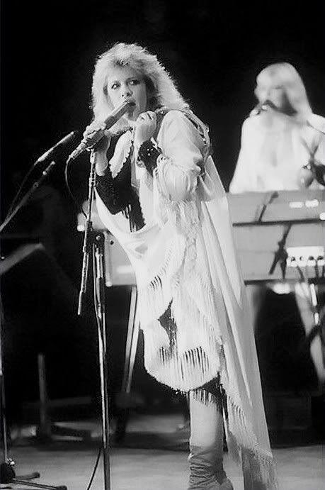 Stevie Nicks, Mirage tour era, 1982.