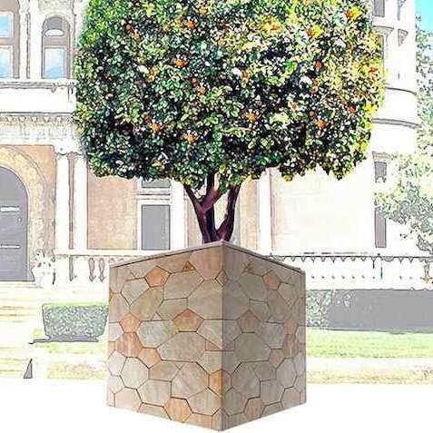 Daniel Hörning: Geometría Y Geología Unidas En Forma De Mosaico De Piedra  Natural.