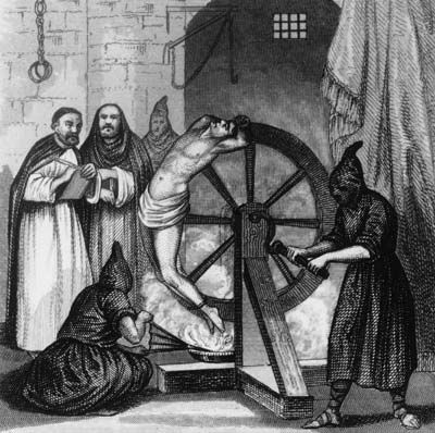 """#3 - HowStuffWorks """"How the Spanish Inquisition Worked"""" - WARNING - this is a link to History Channel - some of the next lessons (on their page - links) may not be suitable for children."""