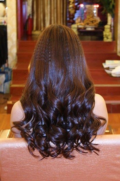 Curly hair with hair treatment #hairtrend #hair #trendy #hairstyle #curlyhair #curly