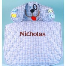 30 best personalized baby gifts images on pinterest baby gift personalized puppy changing pad baby boy gift negle Image collections