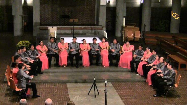 """Prayer of St. Francis"" sung by the Philippine Madrigal Singers * * * Oh so magical! Love this with the ""Sign Language""... ~ This is how I imagine Heaven sounding like. Making me tear-up. So Reverent & Beautiful!! This is real close to the arrangement we sang! I'm going to keep looking...Nola"