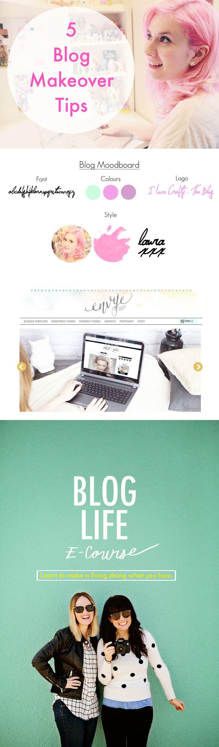 Blog design tips by I Love Crafty