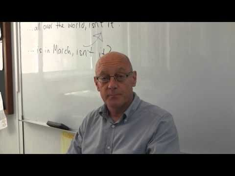 Cambridge author Peter Lucantoni in a training video on question tags for learners of English as a Second Language. Take a look at the video and try answering the questions. Then download the video transcript and answers. http://education.cambridge.org/media/2262886/Use-of-English-Question-Tags.pdf