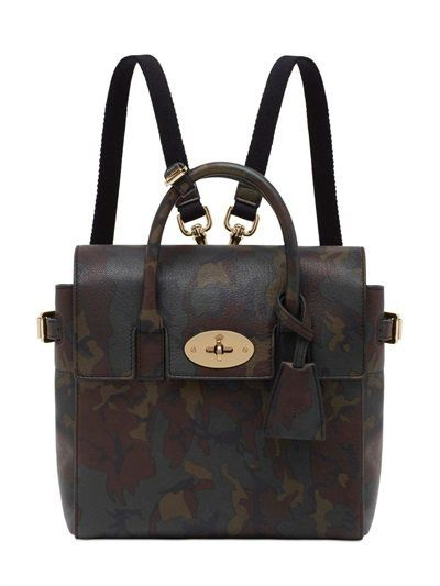 Pin for Later: Must Haves From London Fashion Week's Big Names Mulberry Mini Cara Delevingne Leather Backpack Mulberry Mini Cara Delevingne Leather Backpack (£995)
