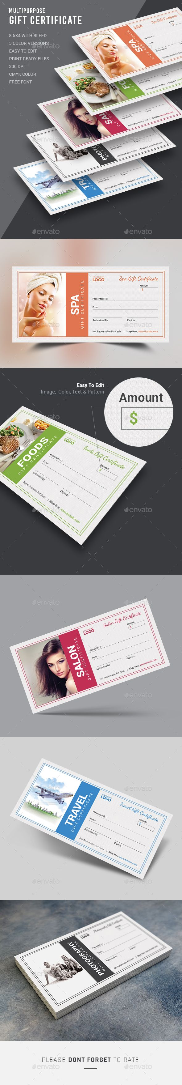 Best 25 gift certificate templates ideas on pinterest gift gift certificate xflitez Gallery
