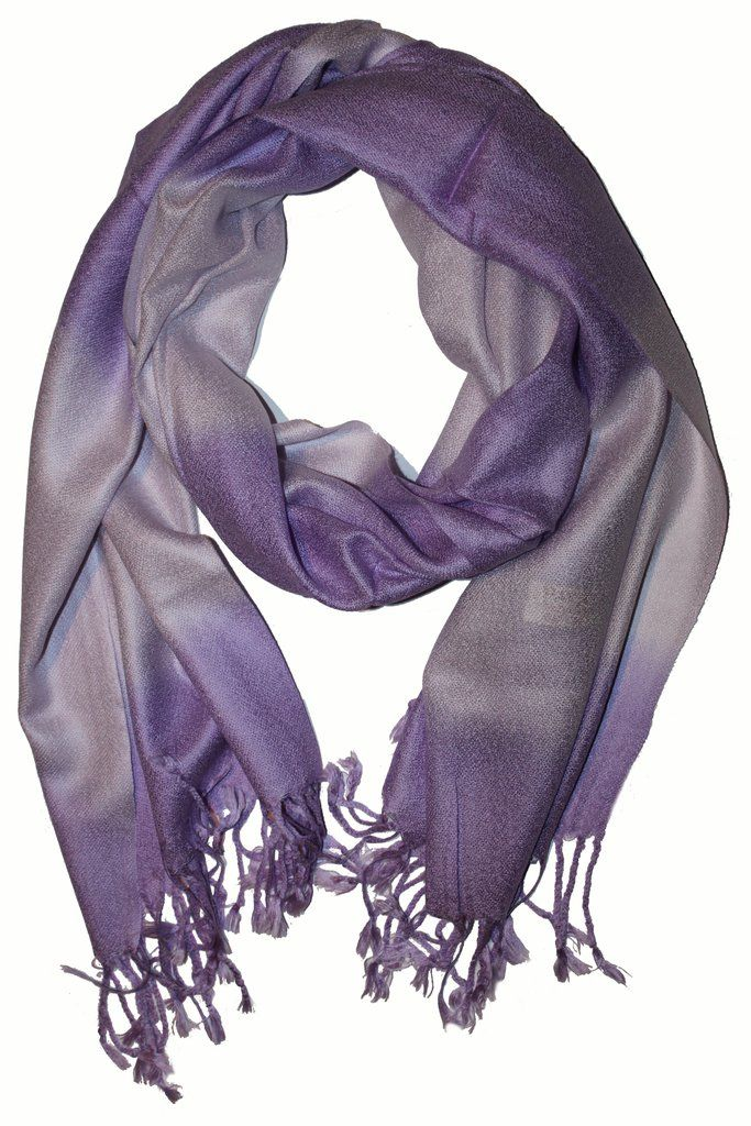Cashmere Scarf Classic Violet 2 G