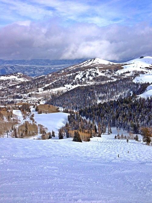 Skiing at Deer Valley Resort