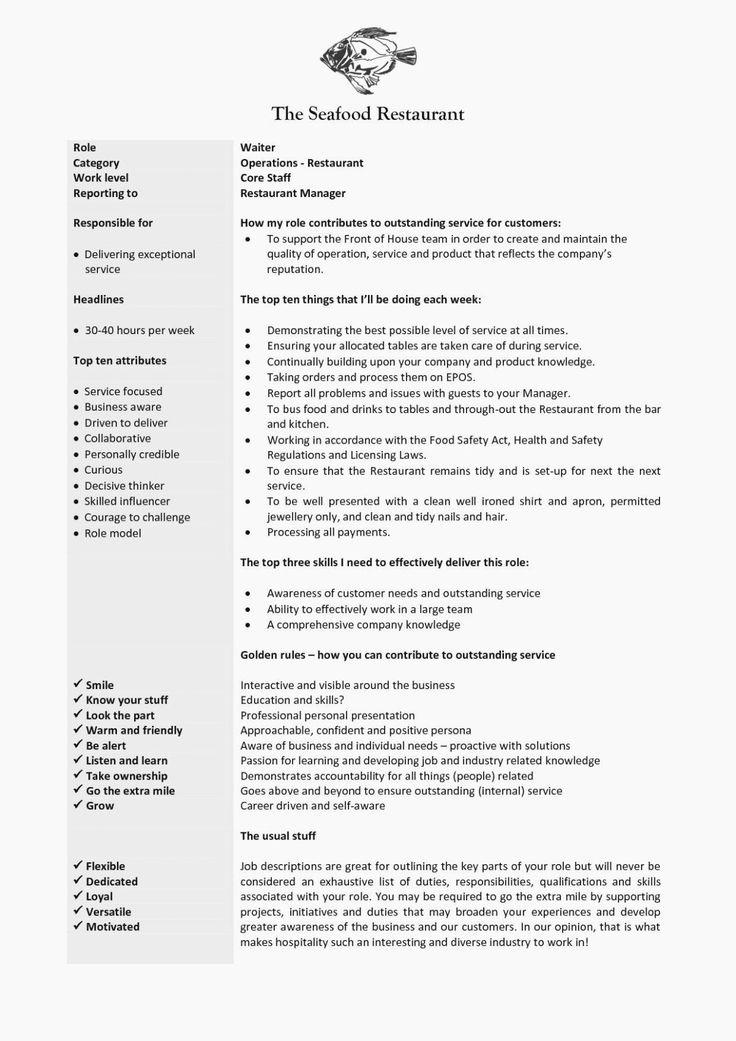 Hostess Job Description Resume Lovely the 15 Reasons