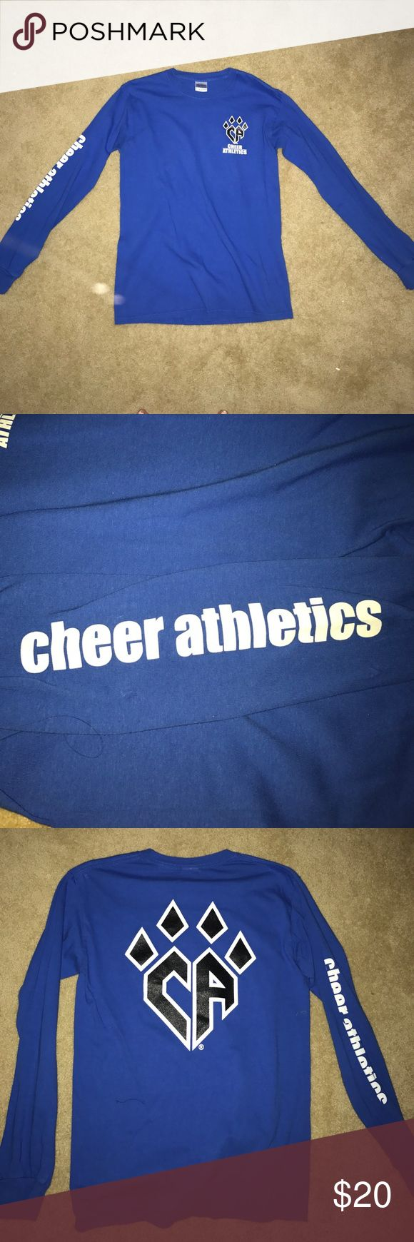 Cheer Athletics Blue Claws long sleeve tshirt Super cute cheer athletics too still in great condition Tops Tees - Long Sleeve