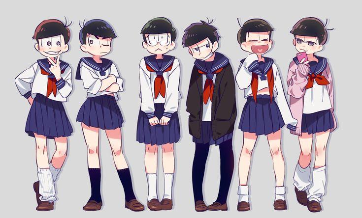 Osomatsu-san how do you wear your uniform?