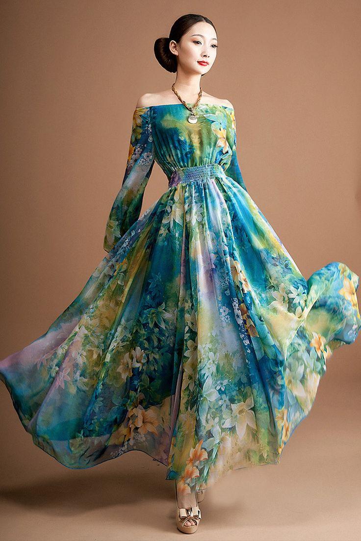 Sommerkleider lang 2012