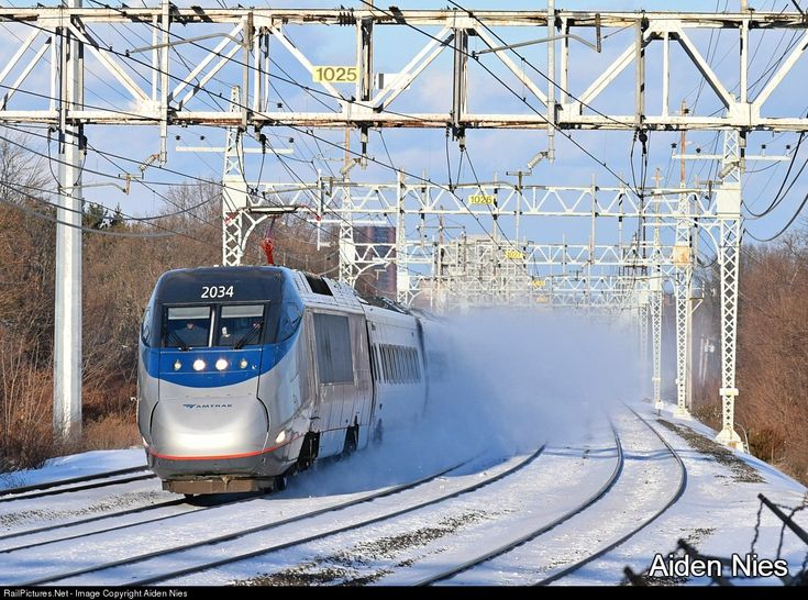RailPictures.Net Photo: AMTK 2034 Amtrak Bombardier/Alstom Acela Express Trainset at West Haven , Connecticut by Aiden Nies