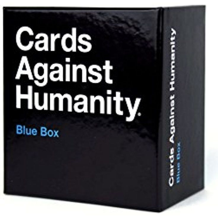Cards Against Humanity Blue Box  #CardsAgainstHumanity  #Cards  #Humanity  #BlueBox  #Games  #Kamisco