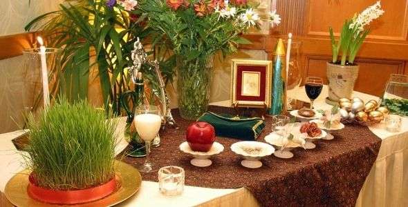 Nowruz - the Persian New Year Celebration - On the First Day of Spring