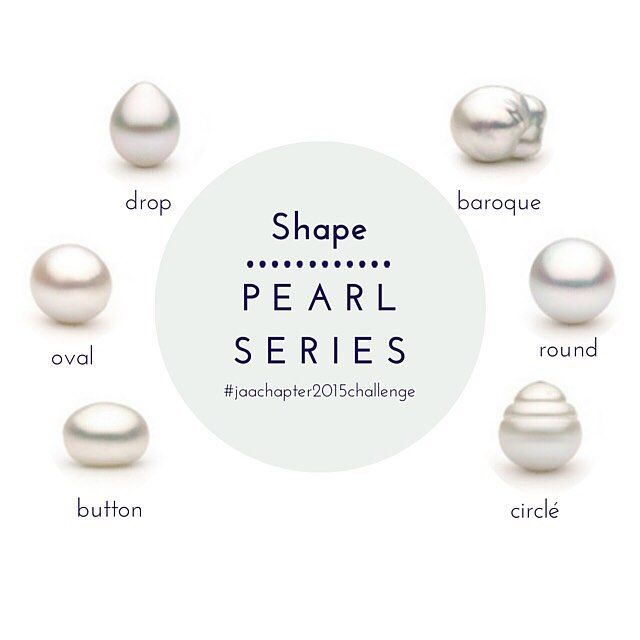 #pearlseries  It is difficult for an oyster to produce a perfectly round pearl, so naturally those pearls are rare and quite valuable. However, slightly off-round pearls can appear to be round from a distance of two feet or more and are a perfectly acceptable substitute. Baroque cultured pearls, or irregularly shaped pearls, have a uniquely interesting look in their own right, and can cost a fraction of what one would pay for a perfectly round pearl.... Read more at jaa.com.au