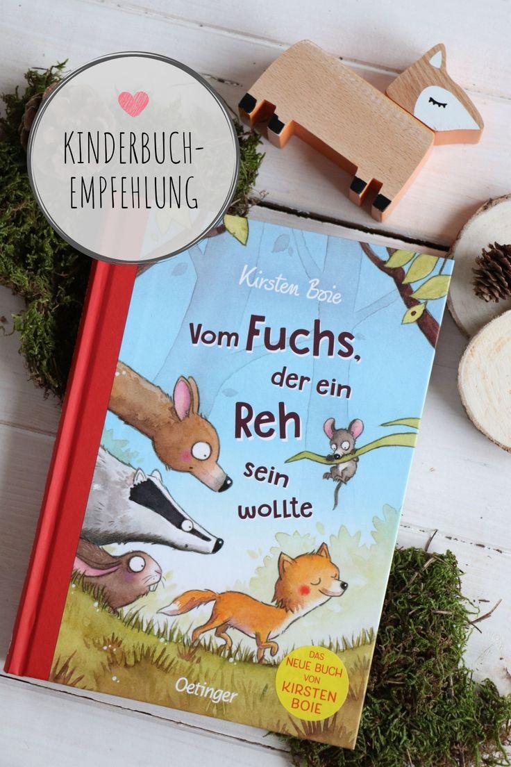 """Das neue Buch von Kirsten Boie: """"Vom Fuchs, der ein Reh sein wollte"""" (inkl. großem Gewinnspiel"""
