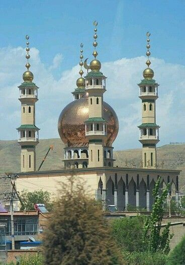 Dongguan Great Mosque in Xining City, Qinghai Province, Northwest China