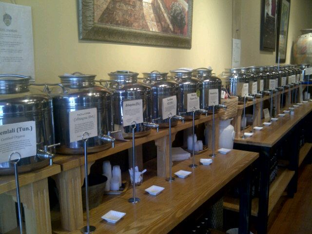 Liquid Gold Olive Oil Tasting Bar in Halifax, NS also has Lady Baker's Teas! Stop in to pick some up!