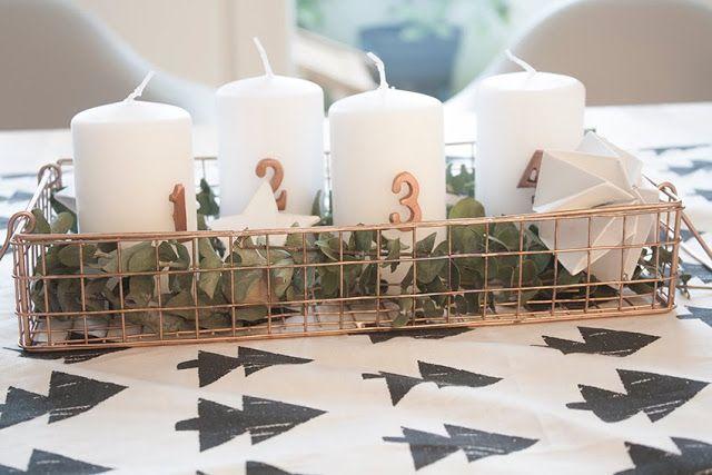 100 besten adventskranz aus kupfer wohnklamotte bilder auf pinterest kupfer kerzen und. Black Bedroom Furniture Sets. Home Design Ideas