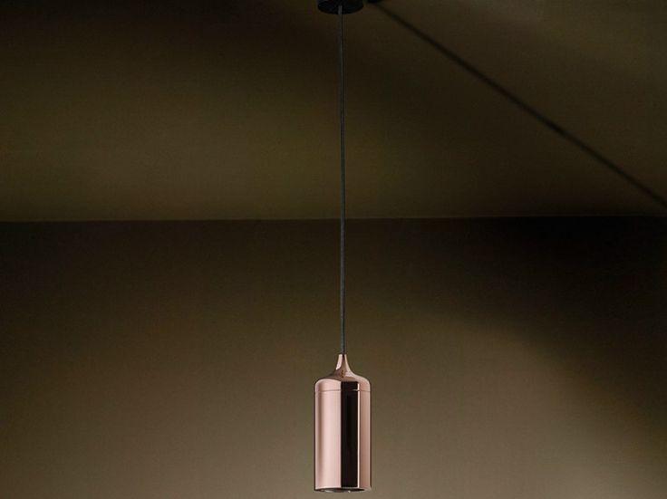 Suspension en cuivre pour éclairage direct SPINOLA by Technical Architectural Lighting