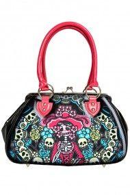 Jane Purse - Muerta Flora #dayofthedead #bag #handbag #retro