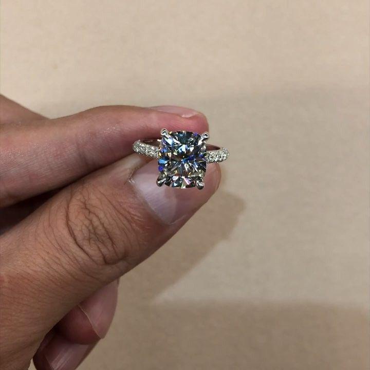 Raven Fine Jewelers On Instagram 3 40 Carat Elongated Cushion Cut