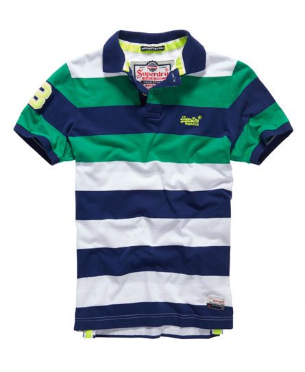 Superdry Polo Double Stripe Hit Más