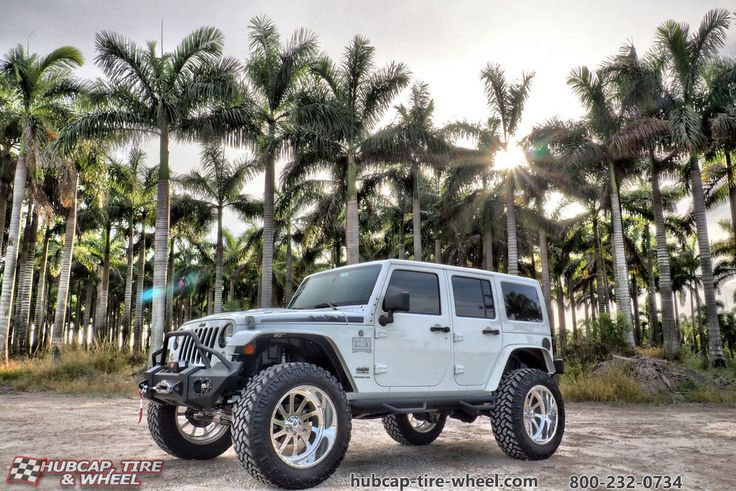 Jeep Wranger with American Force Burnout SS5 Wheels