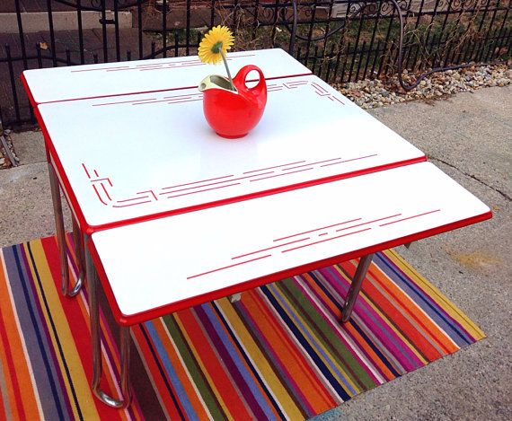 231 best images about Vintage Kitchen Tables on Pinterest Table
