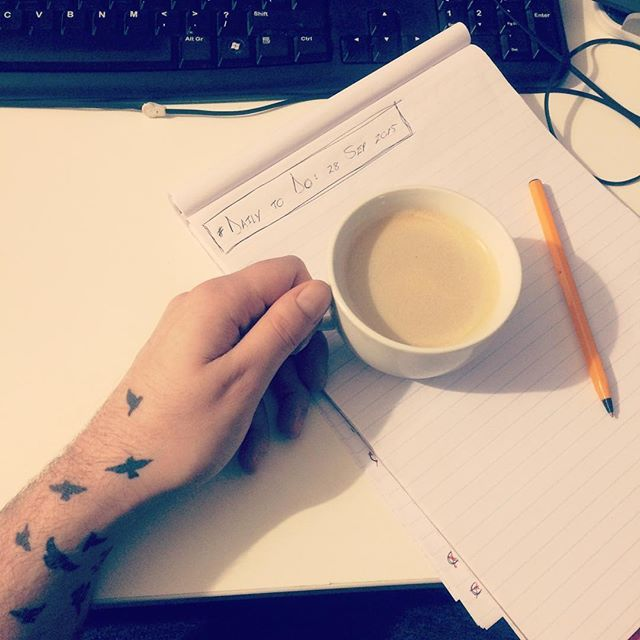 Fuck the dietary demands, no Monday can start without a decent cup of #coffee! #mondaymotivation #capetownigers #work #tattoo #birds #cheatersDOprosper #nosugar (though)